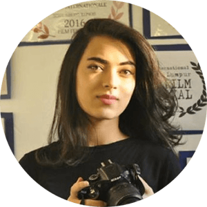 Portrait of Sarah Jehaan Khan